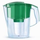 """Фильтр-кувшин Аквафор """"Гарри"""", цвет зеленый. Акция второй модуль в подарок."""