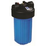 """Комплект Биг Блю 10"""" Синий корпус фильтра  897 со входом 1"""", сбросом давления, + мех. фильтр + металлический кронштейн + ключ + коробка; Тайвань"""