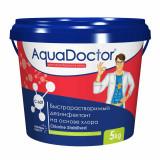 Дезинфектант на основе хлора быстрого действия AquaDoctor C-60Т в таблетках 5 кг