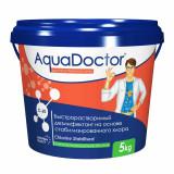 Дезинфектант на основе хлора быстрого действия AquaDoctor C-60 в гранулах 1 кг